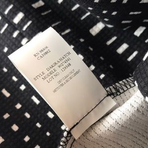 40d6a4070b Skirts | Theory Black White Square Checkered Pencil Skirt | Poshmark